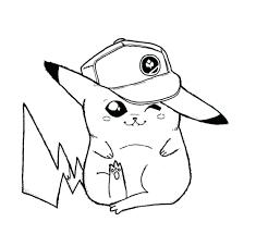 Free Printable Coloring Pages Pokemon Black White Cartoons