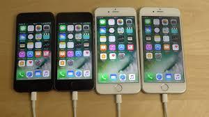 iPhone 6S vs iPhone 6 vs iPhone 5S vs iPhone 5 iOS 10 Beta 1