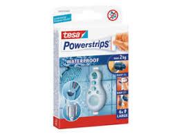details zu tesa powerstrip dusche badezimmer klebehaken wasserfest large 5cm x 2cm