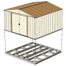 Arrow Floor Frame Kit by Base Kits For 8 U0027 X 6 U0027 10 U0027 X 6 U0027 And 4 U0027 X 10 U0027