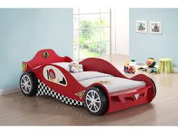 Chic Red Mclaren Racing Car Bed Frame