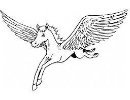 Pegasus Coloring Pages Online