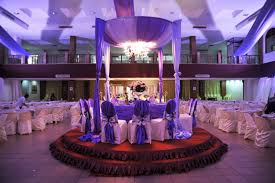 Blue And Purple Wedding Decoration Ideas