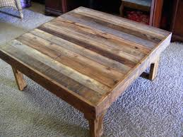 Square Rustic Coffee Table Plans Diy Instructions Wood Legsrustic Tables With Storage