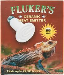 Flukers Turtle Clamp Lamp by Fluker U0027s Ceramic Reptile Heat Emitter 100 Watt Chewy Com
