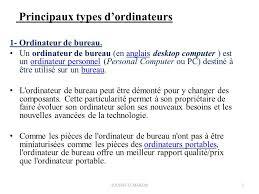 ordinateur de bureau meilleur rapport qualité prix structure et technologie des composants d ordinateurs ppt