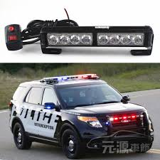 8 Led POLICE FIREMAN Autos Car Truck Led Running Fog Light Beacon ...