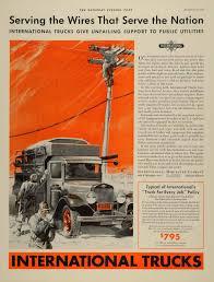 100 International Trucks Chicago 1932 Ad Harvester Delivery ORIGINAL