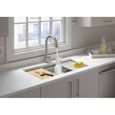 Kohler Whitehaven Sink Accessories by Kohler K 5540 Na Prolific 33 Undermount Single Bowl Kitchen Sink
