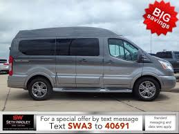 2017 Explorer Van Ford Sterling Grey Transit X SE 7 Passenger