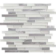 american olean mosaic tile american olean morello mm01 quartz 5 8 x linear glass and