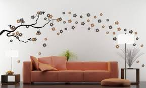 Home Interior Wall Design Glamorous Decor Ideas Painting Patterns Fair