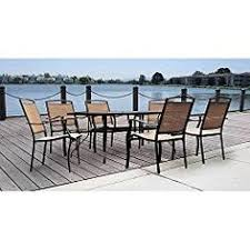 Mainstays Patio Furniture Manufacturer by Mainstays 3 Piece Small Space Scroll Outdoor Bistro Set Red