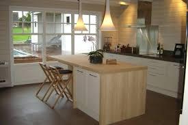 cuisine bois laqué ilot central blanc ilot central bar cuisine ikea trendy excellent