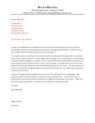 Customer Service Representative Cover Letter Entry Level