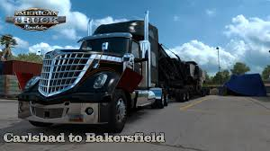 100 1938 International Truck American Simulator 136 LoneStar Carlsbad CA To Bakersfield CA