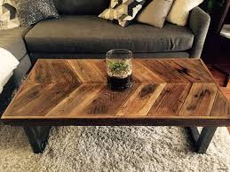 Coffe Table Rustic Coffee Farmhouse With Storage Wooden