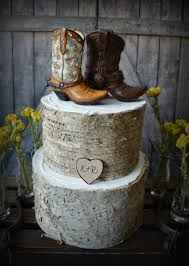 Western Boots Wedding Cake Topper Cowboy Cowgirl Bride Groom Hat Rustic Decor Personalized Country Mr And Mrs Hunting Horse