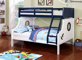 American Freight Bunk Beds by Buy Furniture Of America Cm Bk629 Nautica Twin Full Bunk Bed