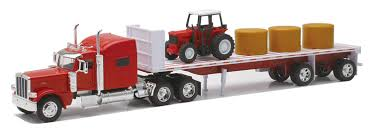 100 Collis Truck Parts Amazoncom Newray Peterbilt 389 With Hay And Farm Tractor Playset 1