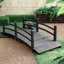 Coral Coast Harrison 6-ft. Wood Garden Bridge - Dark Stain | Hayneedle Apartments Appealing Small Garden Bridges Related Keywords Amazoncom Best Choice Products Wooden Bridge 5 Natural Finish Short Post 420ft Treated Pine Amelia Single Rail Coral Coast Willow Creek 6ft Metal Hayneedle Red Cedar Eden 12 Picket Bridge Designs 14ft Double Selection Of Amazing Backyards Gorgeous Backyard Fniture 8ft Wrought Iron Ox Art Company Youll Want For Your Own Home Pond Landscaping Fleagorcom
