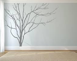 Tree Wall Decor Ideas by Realistic Winter Tree Wall Decal Headboard Wall Decal Home