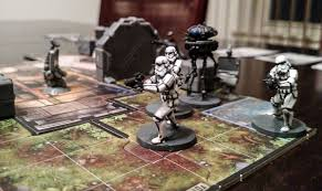 I Recently Picked Up Fantasy Flights New Star Wars Imperial Assault Board Game It Is Full Of Little Mans Usually Avoid Painting