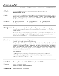 Call Center Resume Examples Best For No Experience At Sample Ideas