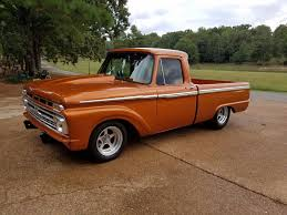 Super Fast 1966 Ford F 100 Custom Truck | Custom Trucks For Sale ...