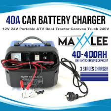 40A Amp Car Battery Charger Portable 12V 24V ATV Boat Tractor ... Noco 72a Battery Charger And Mtainer G7200 6amp 12v Heavy Duty Vehicle Car Van Compact Clore Automotive Christie Model No Fdc Fleet Fast In Stanley 25a With 75a Engine Start Walmartcom How To Use A Portable Youtube Amazoncom Centech 60581 Manual Sumacher Se112sca Fully Automatic Onboard Suaoki 4 Amp 612v Lift Truck Forklift Batteries Chargers Associated 40 36 Volt Quipp I4000 Ridge Ryder 12v Dc In 20