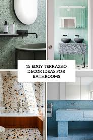 15 Edgy Terrazzo Decor Ideas For Bathrooms - Shelterness 62 Stunning Farmhouse Bathroom Tiles Ideas In 2019 7 Best Floor Tile Options And How To Choose Bob Vila Maximum Home Value Projects Flooring Hgtv Stone Architectural Design Buying Guide Small Bathroom Ideas Small Decorating On A Budget New Designs Pictures Trends Bathtub The Latest 59 Phomenal Powder Room Half Bath Shower That Reveal Materials For Job Top 10 Worst Your 50 Rustic Deocom