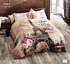 Amazon 100% Cotton forter Set 5 Pcs Paris Eiffel Tower