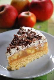 apfel torte mit quark creme schokolade nussfrei