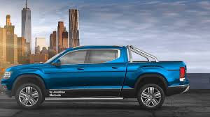 RENDER 2018 Volkswagen Atlas Tanoak Pickup Truck #VW - YouTube