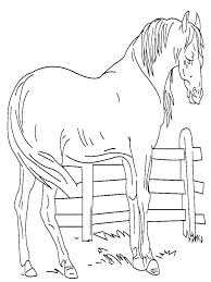 Horses Coloring Pages Printable Horse To Color Jumping Colouring For Free Head Col