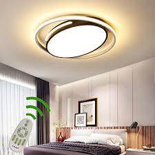 led 50w modern deckenleuchte dimmbar wohnzimmer schlafzimmer