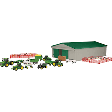 100 John Deere Toy Trucks Ertl 164 Farm Playset Cars Planes Baby