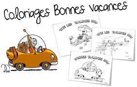 Coloriages Bonnes Vacances Bout De Gomme