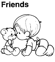 Best Friend Forever Coloring Pages