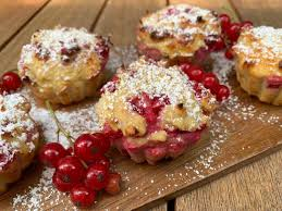 johannisbeer vanille muffins low carb low calorie muffins