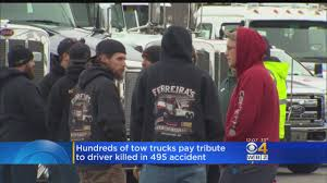 Hundreds Pay Tribute To Tow Truck Driver Killed In 495 Crash « CBS ... Hanover Mall Food Truck Tuesdays Classic Cars Too Shipping Rates Services Crivello Signs Inc 5086601271 Creating Visual Contact Touch A Truck365 Things To Do In South Shore Ma 365 Mitsubishi Fuso Cars For Sale Massachusetts 2008 Ford F350 Super Duty For Sale Boston Cargurus 4217 3100 Weymouth St Pladelphia Pa All Hands Dwelling Youtube Driver Killed After Crashing Pickup Into Utility Pole North Britnie Harlow Union Point Rodeo Tow Drivers Pay Respects Man Andover Highway