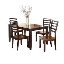 Pierson Extendable Table And Side Chairs 5 Piece Dining Set
