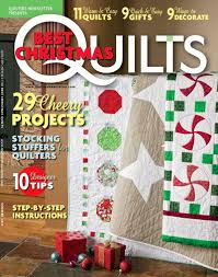 Best Decorating Blogs 2014 by Jen Daly Quilts Quilters Newsletter U0027s Best Christmas Quilts 2014