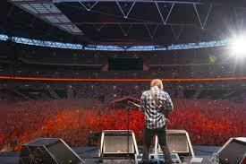 Ed Sheeran Concert At Wembley
