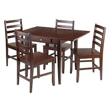 Amazon.com - Winsome Wood Hamilton 5-Piece Drop Leaf Dining Table ... Waihi Drop Leaf Table By Coastwood Fniture Harvey Norman New Zealand Amazoncom Winsome Wood Hamilton 5piece Ding East West Dublin 5 Piece Set With Homelegance Ameillia Round Leaf 58660 Rosecliff Heights Kinsey Reviews Signature Design Ashley Hammis Haven Kitchen And 2 Chairs In Brown Fabric John Lewis Butterfly Folding Four Ding Table 4 Chairs Nw6 Camden For Highland Dunes Burroughs Counter Height Maple Heywood Wakefield Dropleaf 1950s Saturday Sale