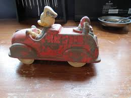 Mickey Mouse Rubber Fire Truck , But