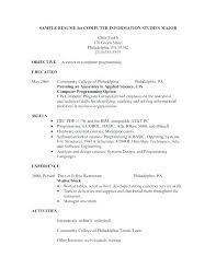 Sample Resume For Restaurant Hostess Examples