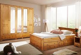 home affaire schlafzimmer set hugo set 4 tlg bett 180 cm 5 trg kleiderschrank und 2 nachttische kaufen otto