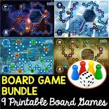 Science Game Board Bundle