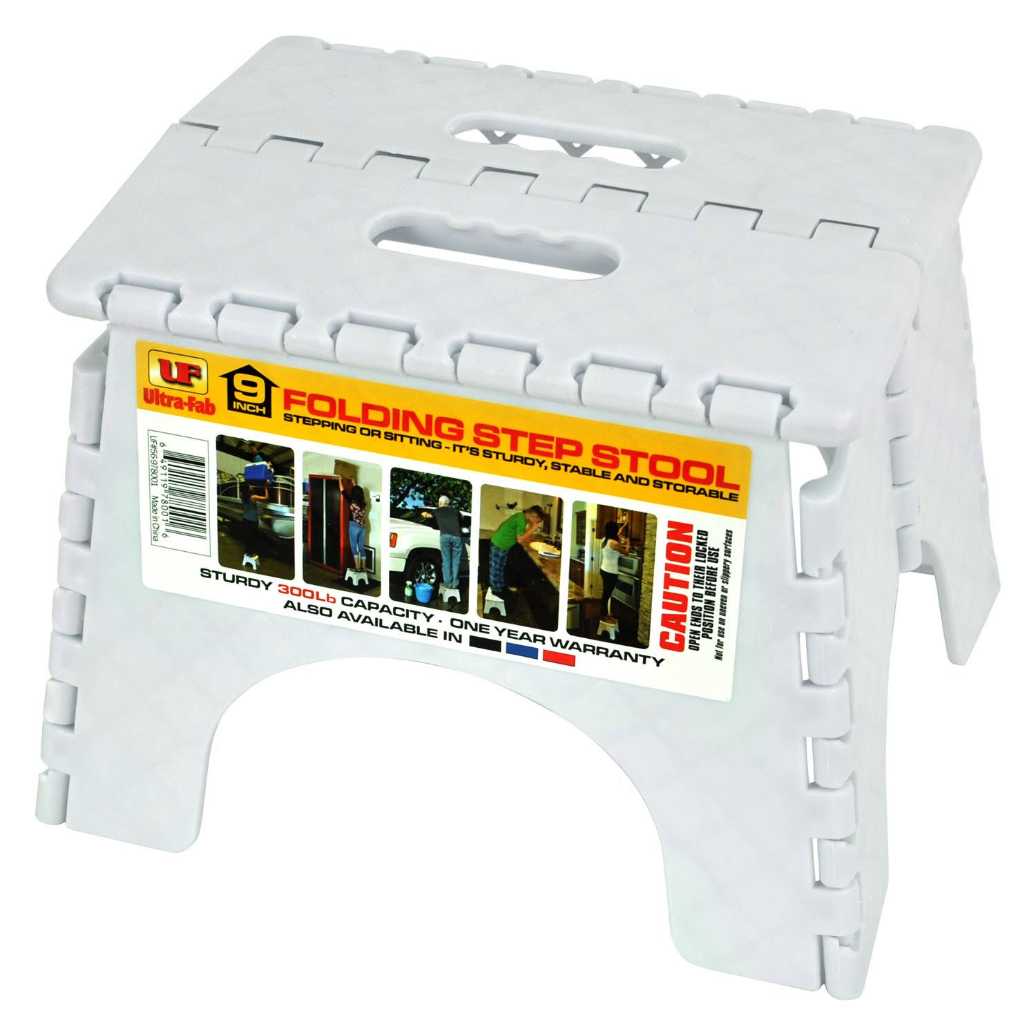 Ultra-Fab Step-9in Plastic Folding White